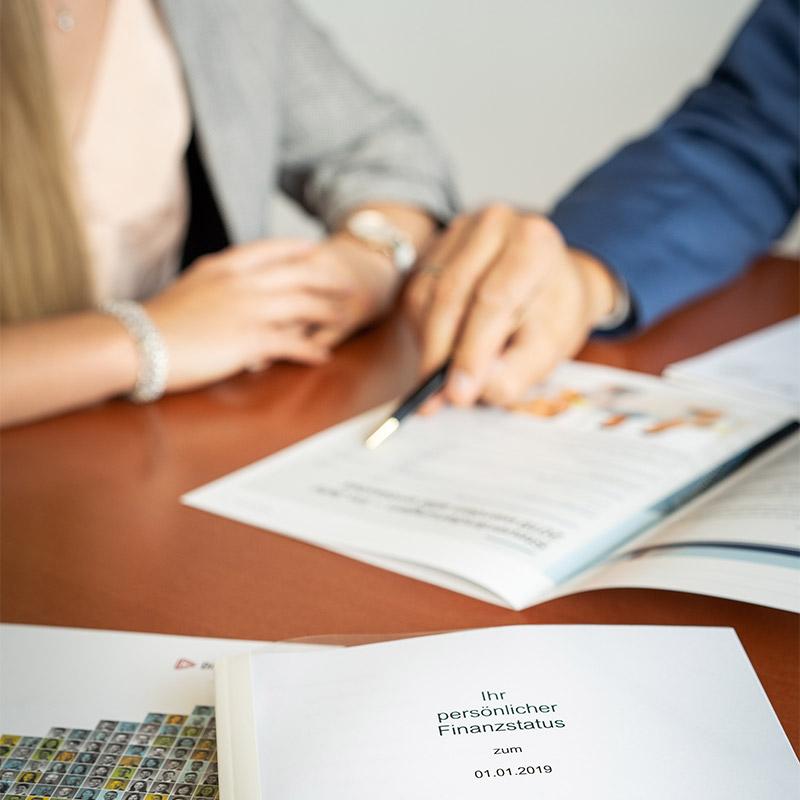 Analyse Ihrer individuellen Berdürfnisse zu Vermögensanlagen